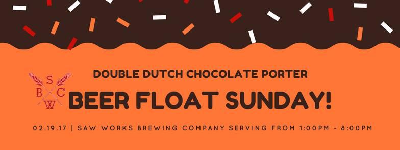 Beer Float Sunday