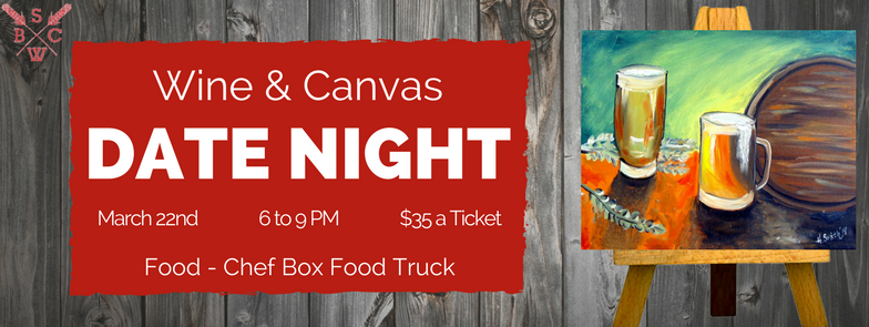 Wine & Canvas at Saw Works