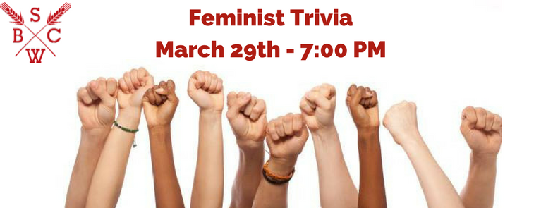 Feminist Trivia at Saw Works
