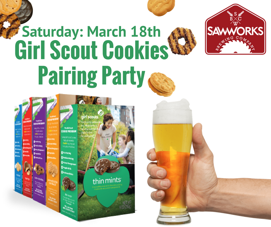 Girl Scout Cookie Pairing Party