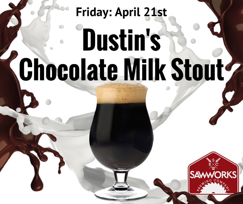 Dustins Chocolate Milk Stout Rough Cut